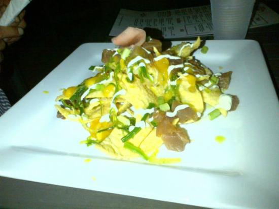 Secret Harbour Beach Resort: Secret Harbor Ahi Nachos..so delicious!