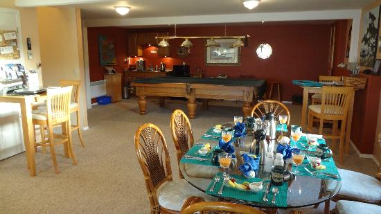 Bostrom's B&B On Little Beach Bay: Common room