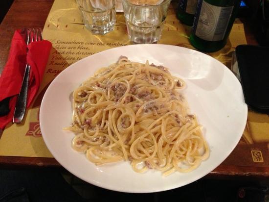 La Base: Spaghetti texas