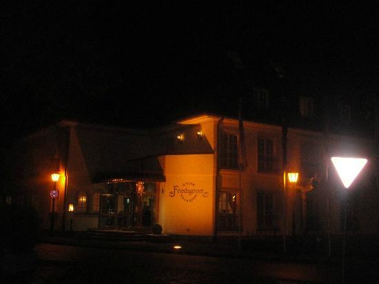 Hotel Schloss Friedestrom: main facade