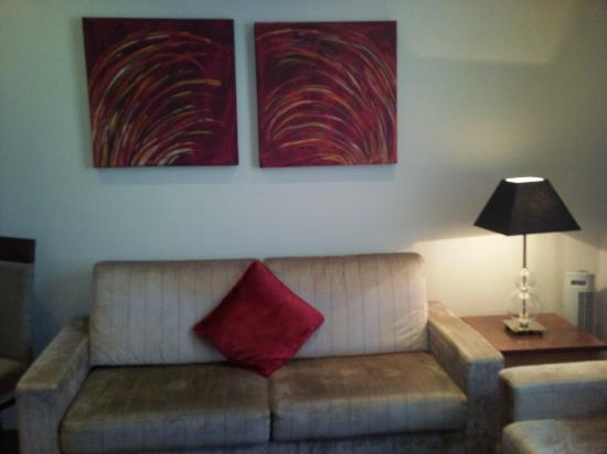 PREMIER SUITES PLUS Dublin Leeson Street: living room