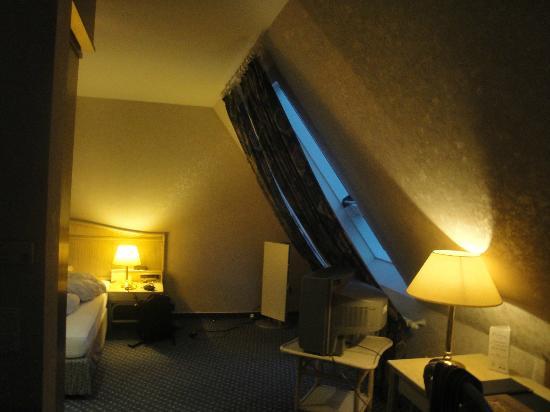 Hotel Schloss Friedestrom: room on top floor