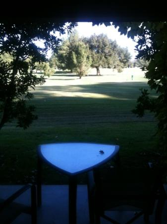 Temecula Creek Inn: view from our room