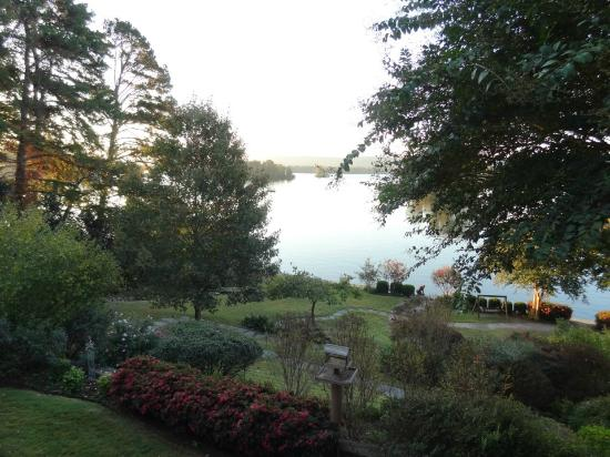 Lookout Point Lakeside Inn: View of Lake Hamilton from our balcony 