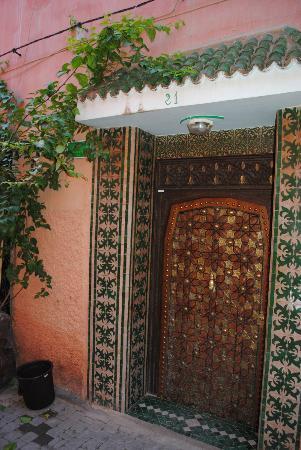 Riad Lila: Puerta de entrada
