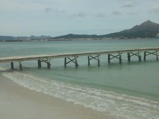 Eix Lagotel: playa del muro, fabulosa!!
