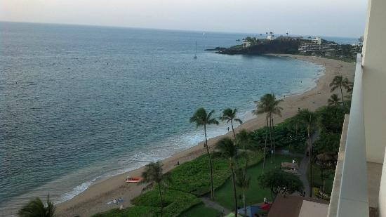 The Westin Maui Resort & Spa: View from room.