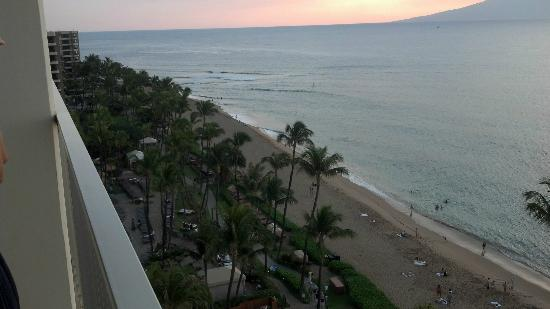 The Westin Maui Resort & Spa: View from room to the south.