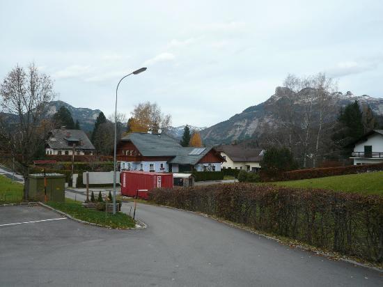 JUFA Hotel Bad Aussee: Ausblick vom Hotel