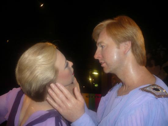 Blackpool, UK: Torvill and Dean
