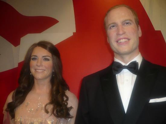 Blackpool, UK: Will and Kate