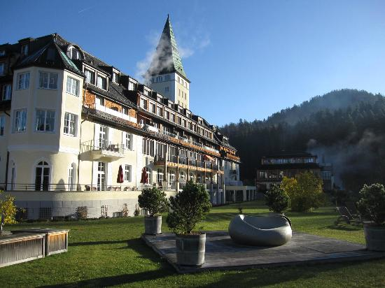 Schloss Elmau : Hotel and Spa Area