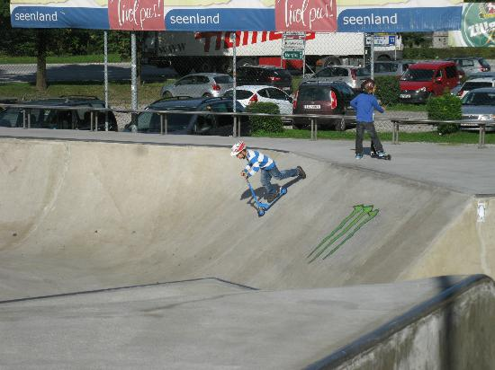 Cradle Skatepark: Not just skateboards
