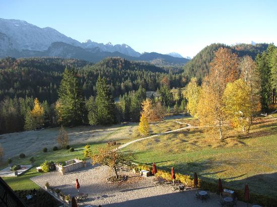 Schloss Elmau : View from room