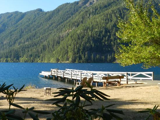 Lake Crescent Lodge: Lake Cresent dock