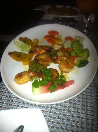 Unbelievable : Can't remember which shrimp entree this was, but it was enjoyed by a friend