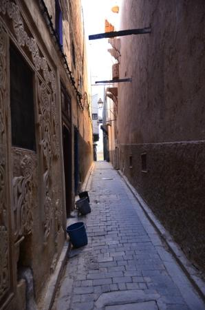Riad Layalina Fez: the first alley when you come out the riad