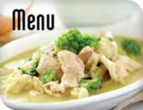 "Simply Asia Waterfront: the famous green curry, dish no. ""301"""