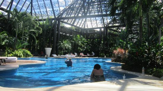 Mayan Palace Riviera Maya: We loved this area of the pool