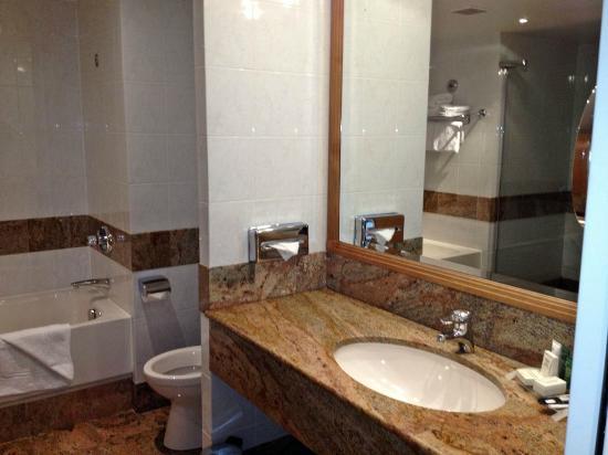 Hilton Paris Charles de Gaulle Airport: Bathroom Vanity