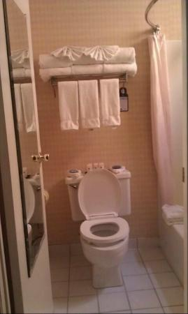 Best Western Plus Anaheim Inn: Bathroom