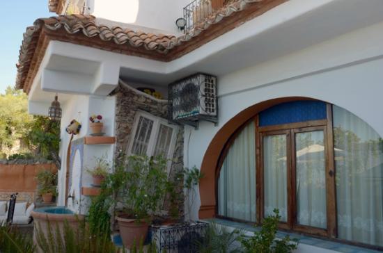 Dar Meziana: our room window