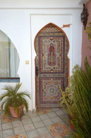 Dar Meziana: our room door