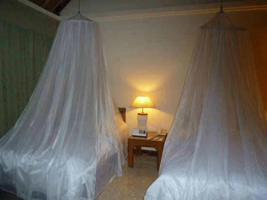 Alam KulKul Boutique Resort: aunque hay mosquiteras no había mosquitos