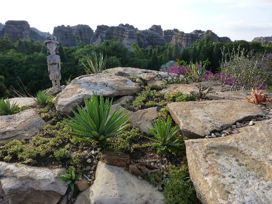 Le Relais de la Reine: 'Rock gardens'