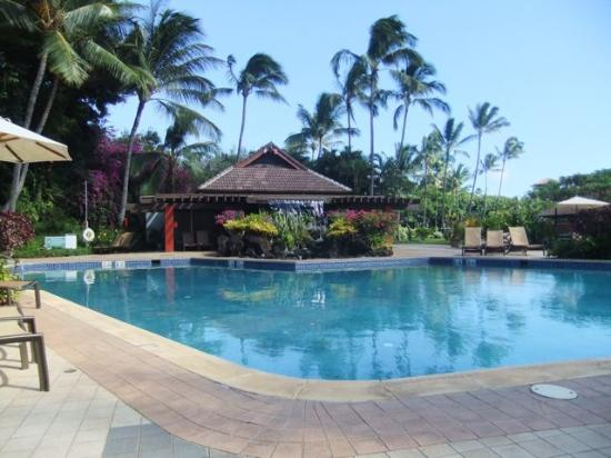 Sheraton Kauai Resort : Garden pool. It was like having our own private pool.