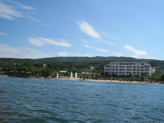 Iberostar Rose Hall Suites: view from boat
