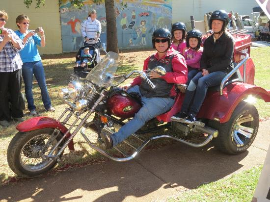 "Trike Adventures: The kids will be thrilled to take a ride on the ""Wild Side""."