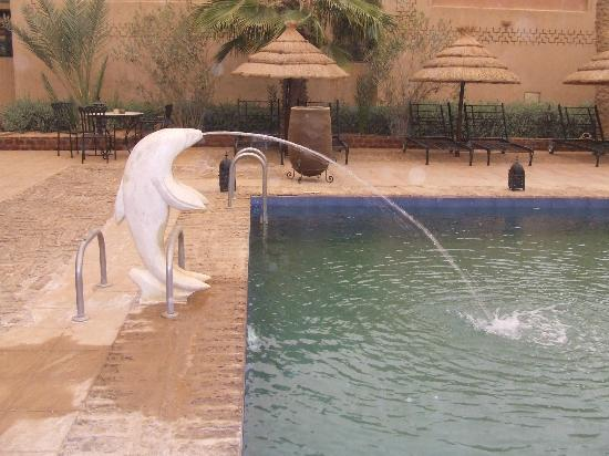 Kasbah Tizimi: The pool filter system was a work of art