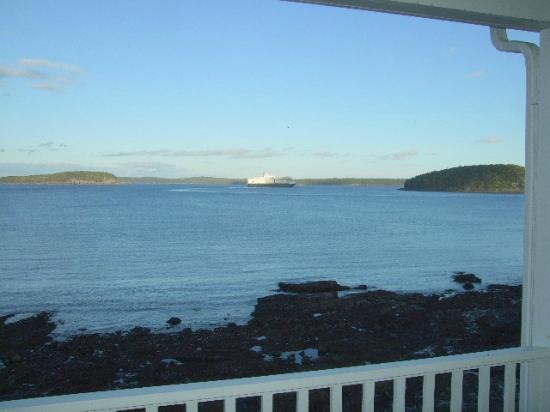 Bar Harbor Inn: View From Room 501 - OF Lodge