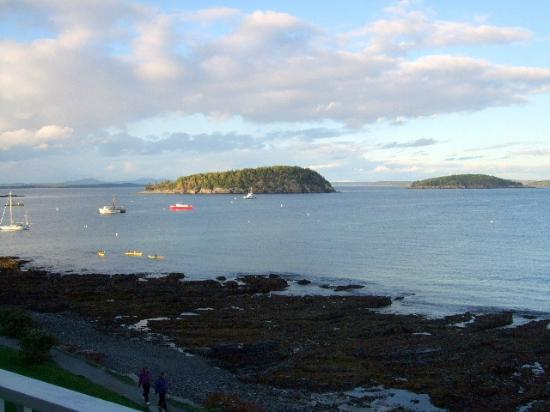 Bar Harbor Inn: View From Room 501 OF Lodge
