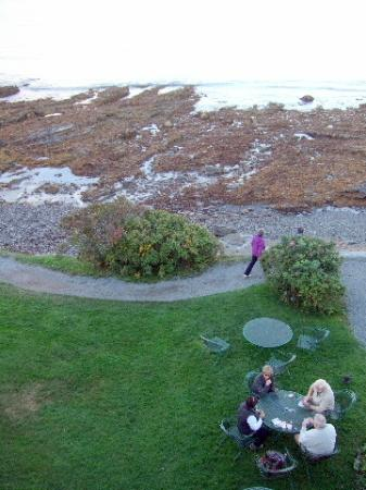 Bar Harbor Inn: View of the Path Directly Below Rm. 501 OF Lodge -