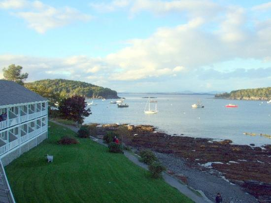 Bar Harbor Inn: View from Rm 501 of the OF Lodge