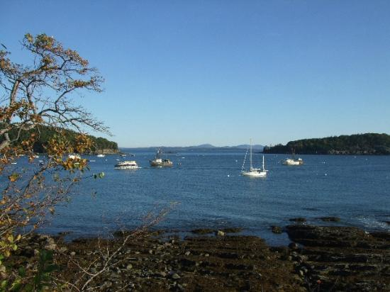Bar Harbor Inn: View from the Path