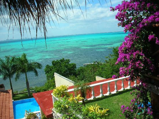 Hotel La Joya: View From Room 3