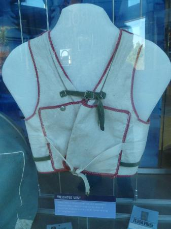 The Carolina Basketball Museum : A weighted vest players had to wear as a disciplinary measure