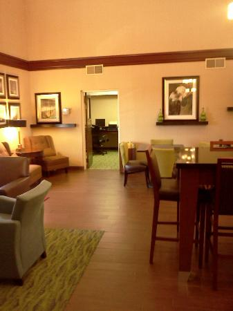 Hampton Inn Batesville: Lobby