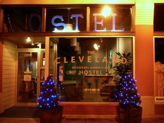 The Cleveland Hostel: Inviting look from West 25th Street