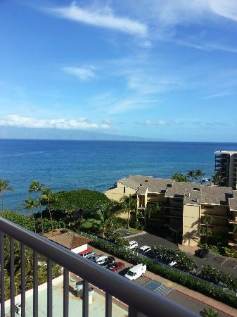 Ka'anapali Beach Club: View from the balcony