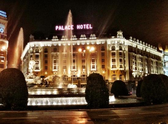 The Westin Palace Madrid: Front View of Hotel