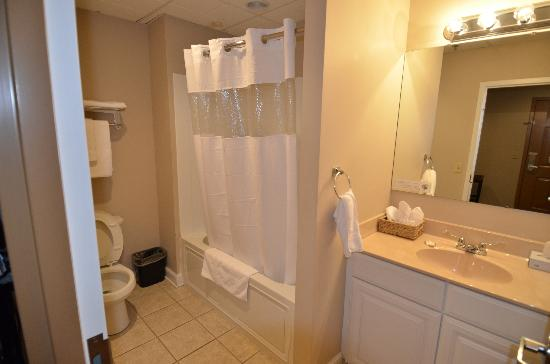Heritage Suites: bathroom