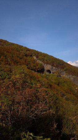 North Carolina Mountains, Carolina del Norte: Tunnel at Craggy Gardens, North Carolina