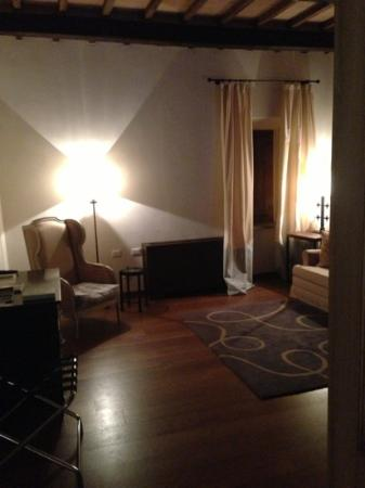 Castel Monastero: camera