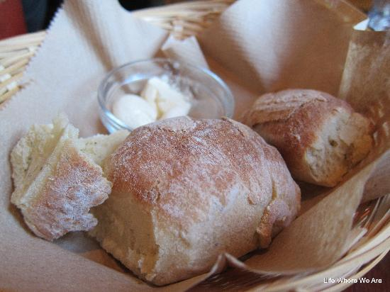 Eleven22 Restaurant : The dinner rolls at Eleven 22 are amazing.  Fresh and baked with a light herb of some sort.