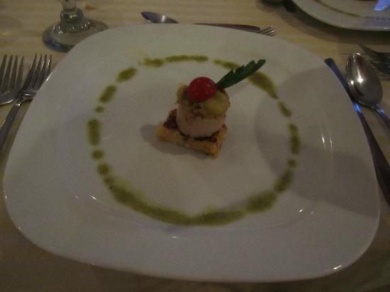 Marival Resort & Suites: Mexican Restaurant Scallop appetizer