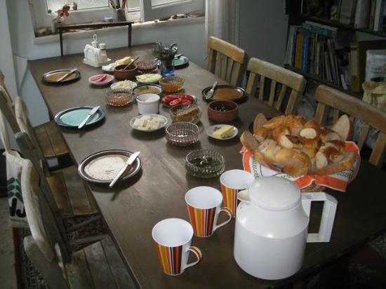 Pension Ecer: Lovely breakfast at Ecer Pension